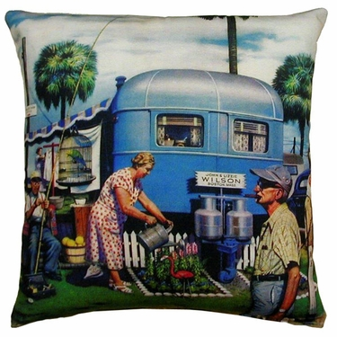 Trailer to Go Outdoor Pillow - Click to enlarge
