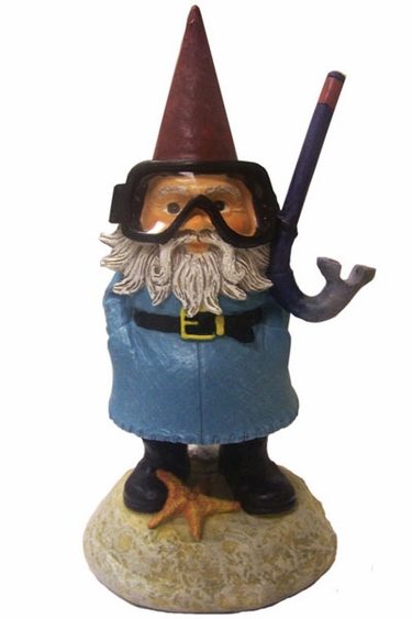 Travelocity Gnome - Snorkel - Click to enlarge
