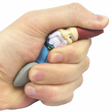 Travelocity Gnome Stress Relievers (Set of 4) - Click to enlarge