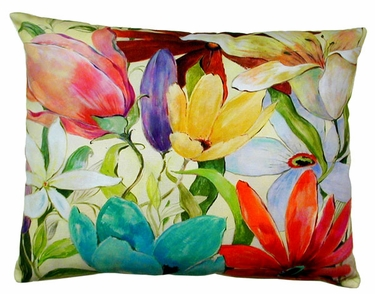 Tropical B Outdoor Pillow - Click to enlarge