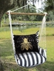True Black Honey Bee Hammock Chair Swing Set