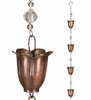 "100"" Fancy Tulip Rain Chains (Set of 2)"