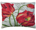 Tulips Outdoor Pillow