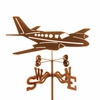 Twin Motor Plane Weathervane