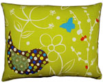 Twitter Bird Outdoor Pillow