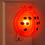 Ultrasonic Pest Repeller - LED Ladybug (Set of 2)