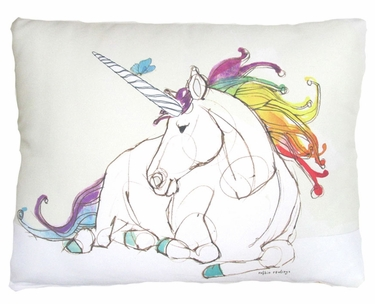 Unicorn Dream Outdoor Pillow - Click to enlarge