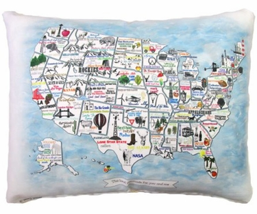 United States Outdoor Pillow - Click to enlarge
