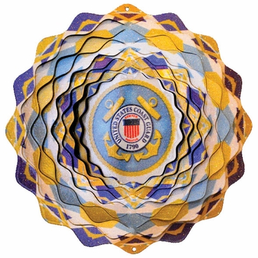 US Coast Guard Wind Spinner - Click to enlarge