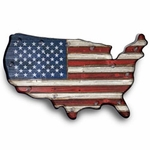 USA Flag Marquee - Battery Operated