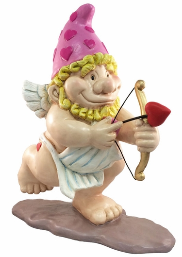 Valentine's Day Cupid Gnome - Click to enlarge