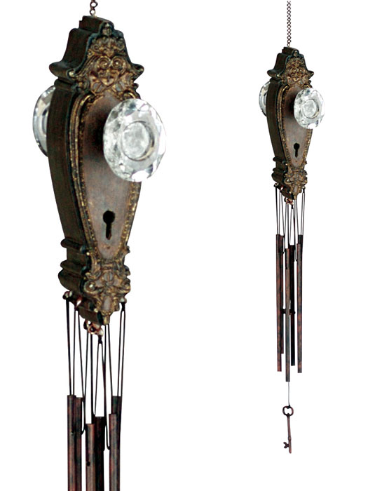 Victorian Door Knob Wind Chime