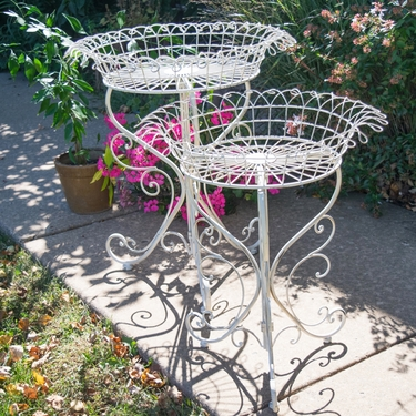 Victorian Plant Stand Baskets (Set of 2) - Click to enlarge