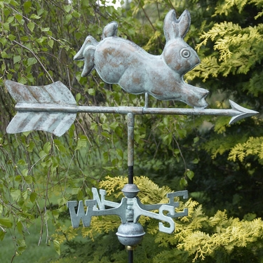 Vintage Rabbit Weathervane - Click to enlarge