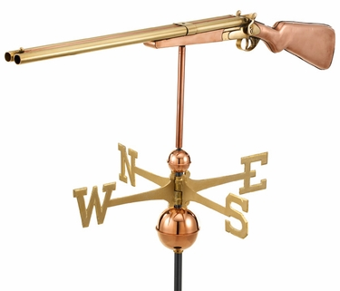 Vintage Shotgun Weathervane - Click to enlarge