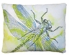 Watercolor Dragonfly Outdoor Pillow