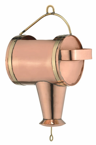 Watering Can Downspout Leader - Click to enlarge