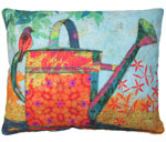 Watering Can Outdoor Pillow