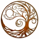 """Wave"" Tree of Life Wall Art"
