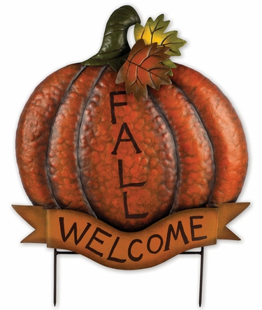 Welcome Fall Pumpkin - Click to enlarge