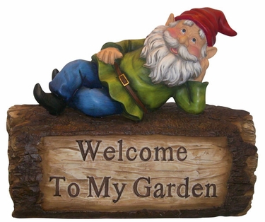 Welcome Gnome - Click to enlarge