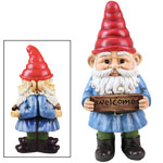 Welcome / Scram Two-Sided Gnome