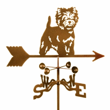 Westie Dog Weathervane - Click to enlarge