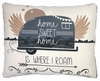Where I Roam Outdoor Pillow