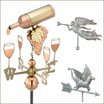 Whimsical Weathervanes