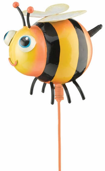 Whimsy Bee Garden Stake - Click to enlarge