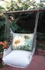 White Daisies Hammock Chair Swing Set
