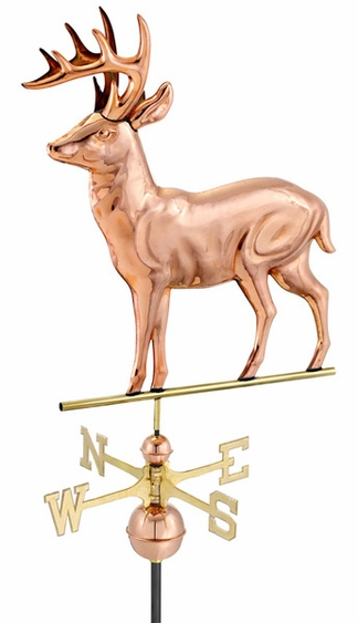 Whitetail Deer Weathervane - Click to enlarge