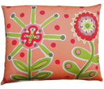 Wildflower Outdoor Pillow