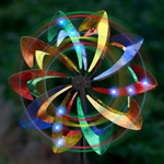 Wind-Powered LED Light Wind Spinner