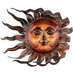 Wind & Sun Wall Decor / Statuary