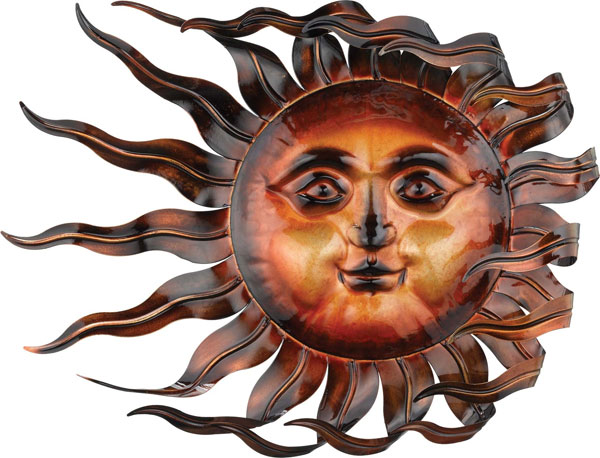 wind sun wall decor statuary only 7995 at garden fun - Sun Wall Decor
