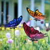 Windy Wings Butterfly Garden Stakes (Set of 6)