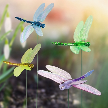 Superieur Windy Wings Dragonfly Garden Stakes (Set Of 6)