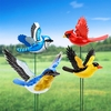 Windy Wings Songbird Garden Stakes (Set of 6)
