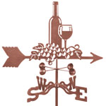 Wine & Grapes Weathervane