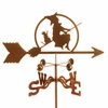 Witch on Broom Weathervane
