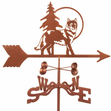 Wolf Weathervane - Click to enlarge
