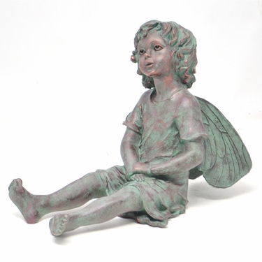 Wood-Sorrel Fairy Statue - Cicely Mary Barker - Click to enlarge