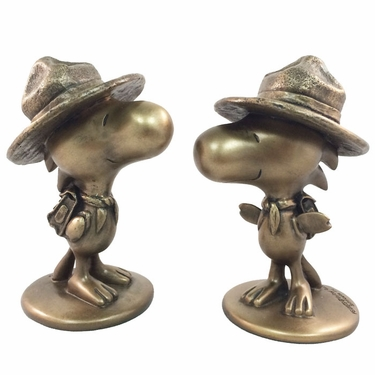 Woodstock Bird Scout - Antique Bronze (Set of 2) - Click to enlarge