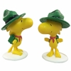 Woodstock Bird Scout w/Green Hat (Set of 2)