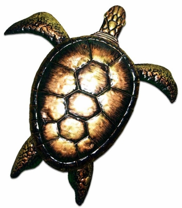 XL Bronzed Sea Turtle - Click to enlarge