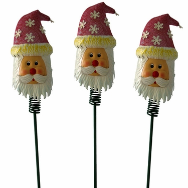 Xmas Garden - Christmas Garden Stakes (Set of 3) - Click to enlarge
