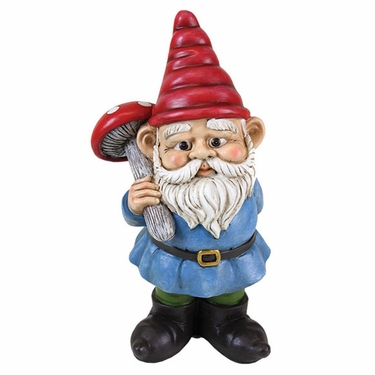 Yard Gnome w/Mushroom - Click to enlarge