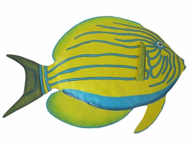 Yellow Surgeonfish Wall Decor - Click to enlarge
