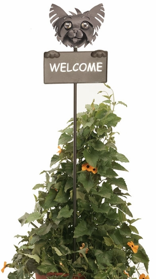 Yorkie Welcome Sign - Click to enlarge